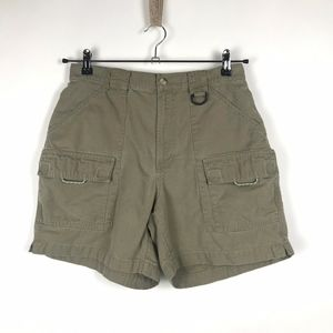 Columbia Womens Olive Green Khaki PFG Shorts
